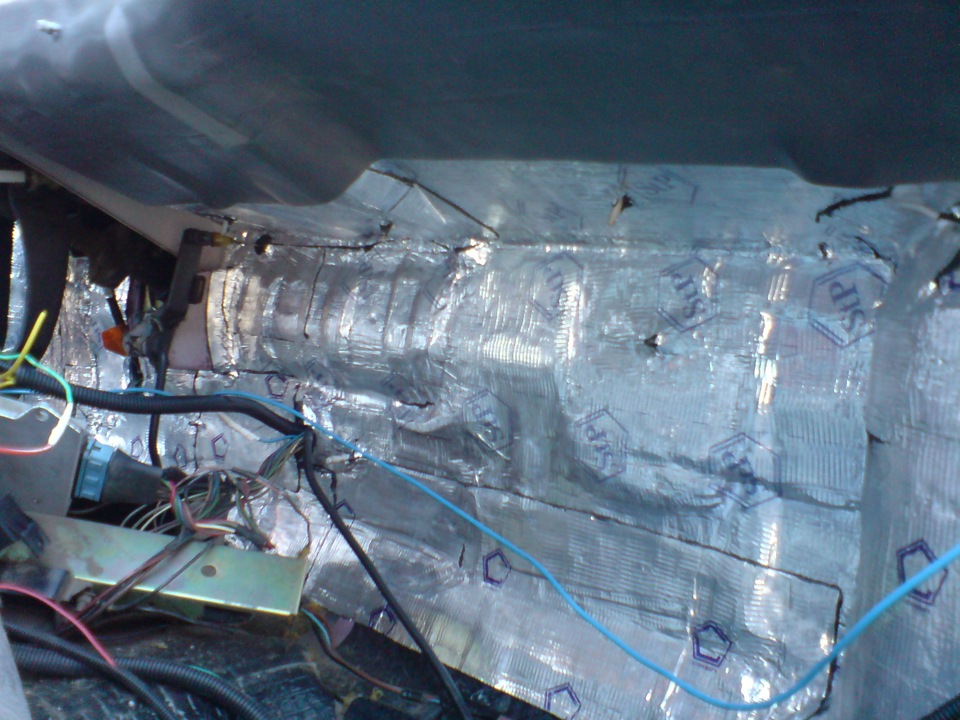 Фото №7 - шумоизоляция моторного отсека ВАЗ 2110