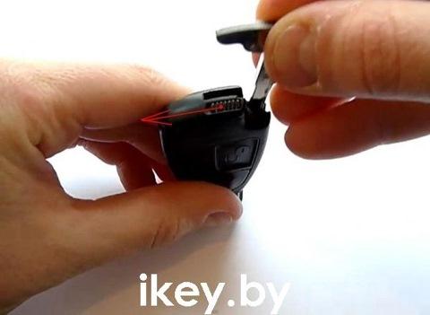 Как разобрать ключ от мерседеса