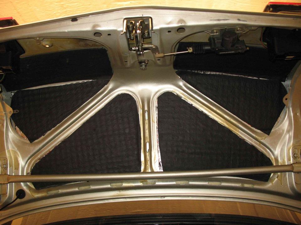 Фото №15 - шумоизоляция крышки багажника ВАЗ 2110