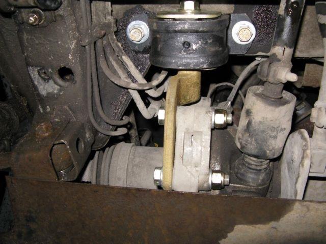 Фото №12 - замена подушки коробки передач ВАЗ 2110