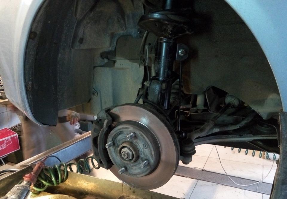 Шевроле лачетти ремонт передней подвески