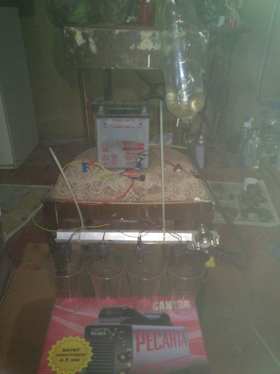 Промывка инжектора (чистка форсунок) своими руками и 21