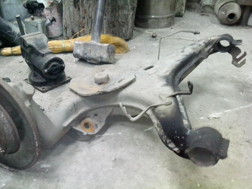 Замена задних сайлентблоков фольксваген транспортер ремонт догревателя фольксваген транспортер т5