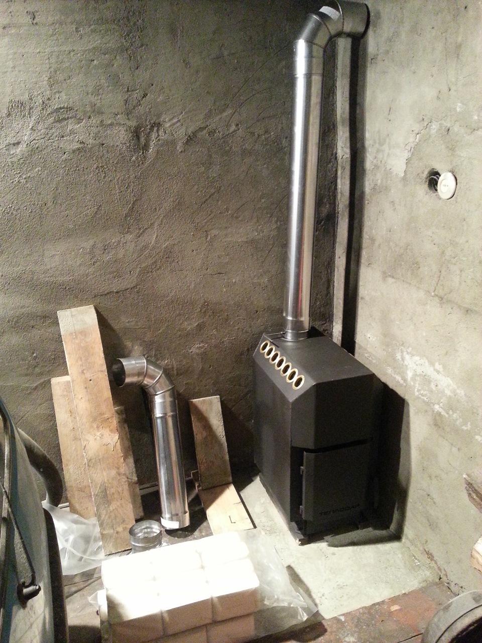 печь для гаража фотоотчет самые