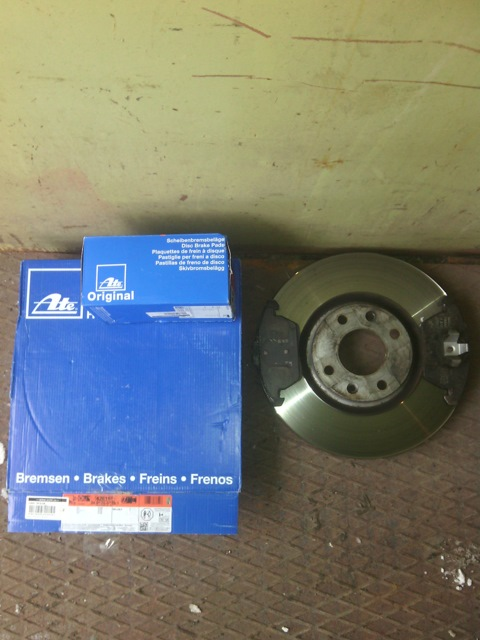 Как заменить тормозные диски на пежо 408