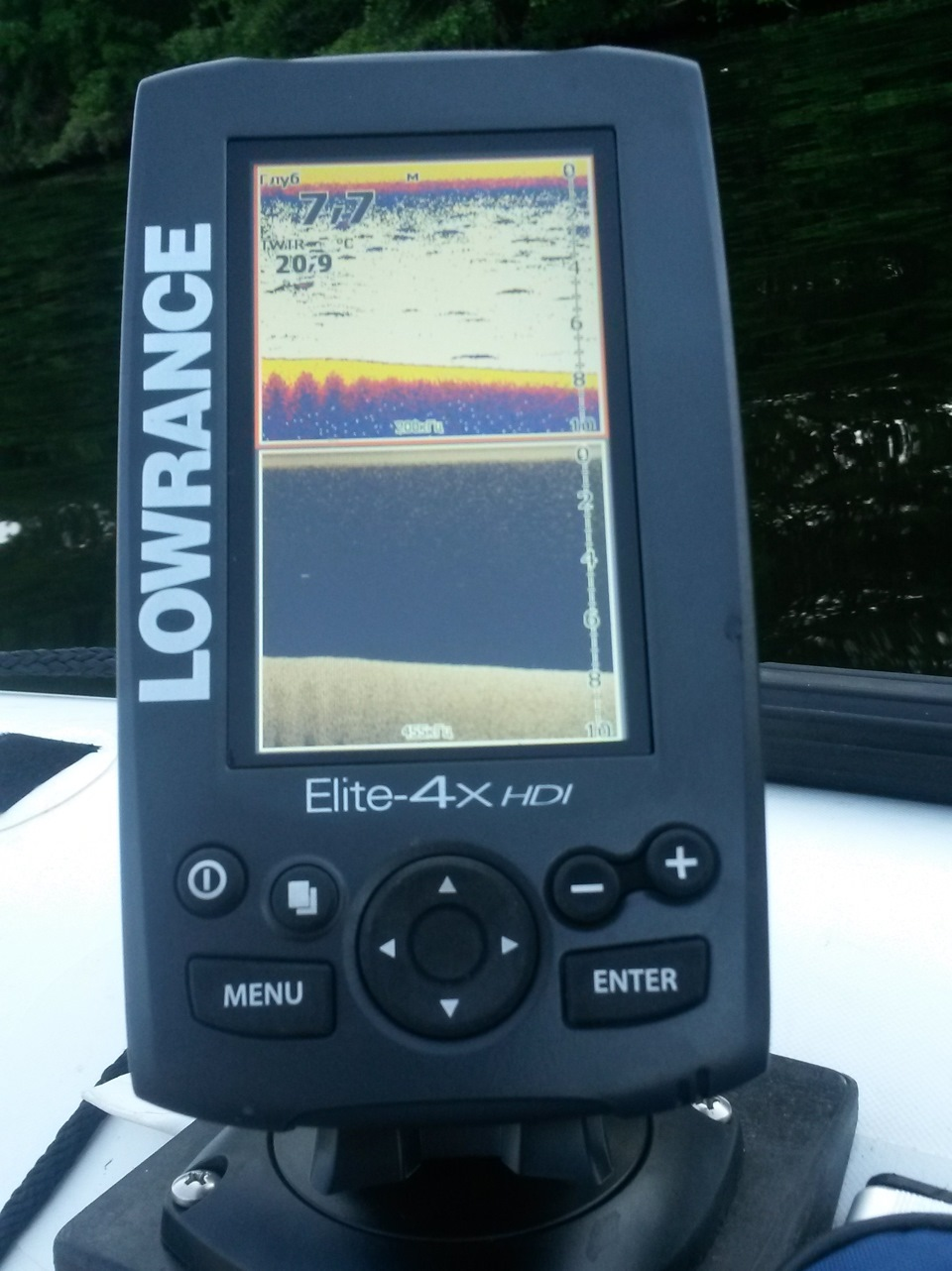 Lowrance Elite-4 HDI Gold 83/200 455/800 Эхолот картплоттер из Новосибирска