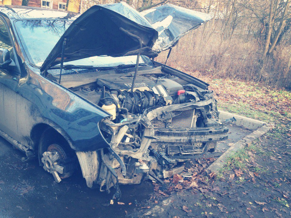 ремонт после аварии цена