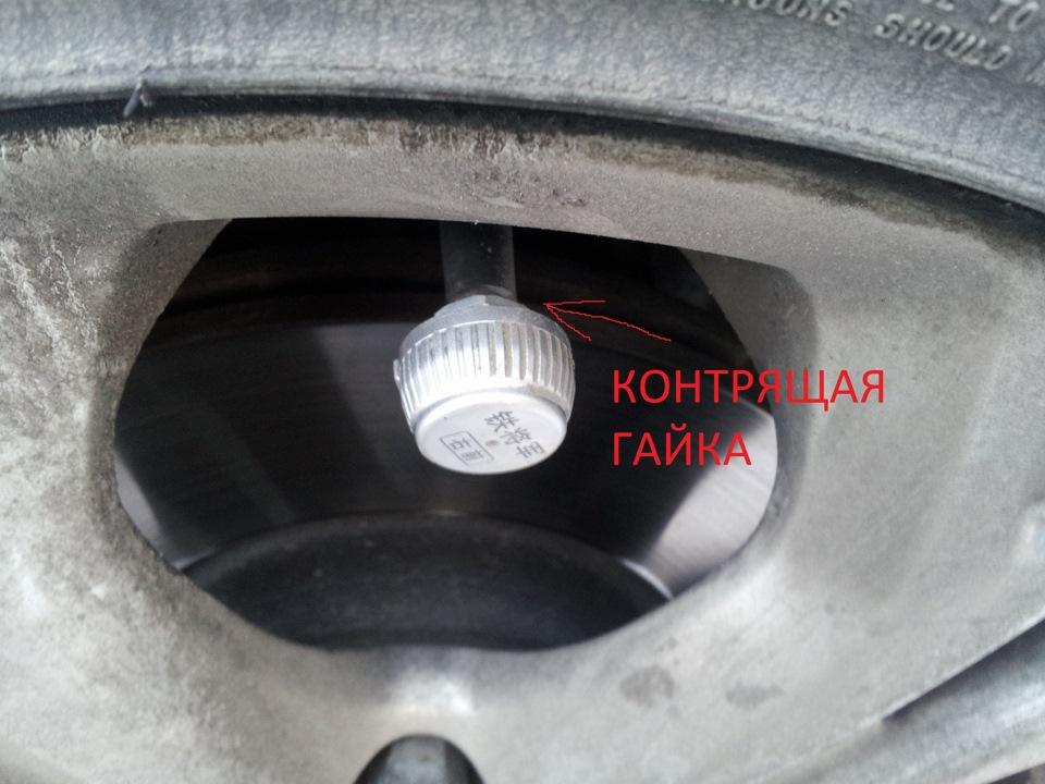 установка датчиков давления колес на ford galaxy