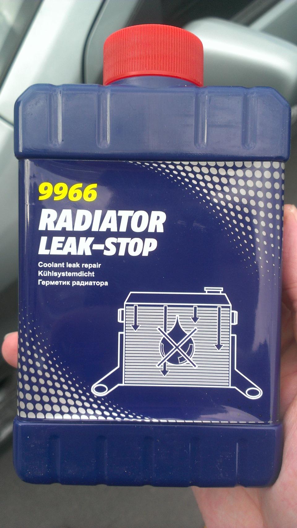 Инструкция герметика радиатора
