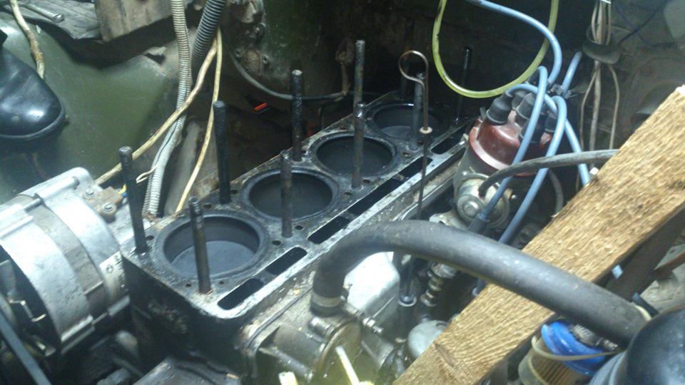 Своими руками ремонт двигателя умз 417