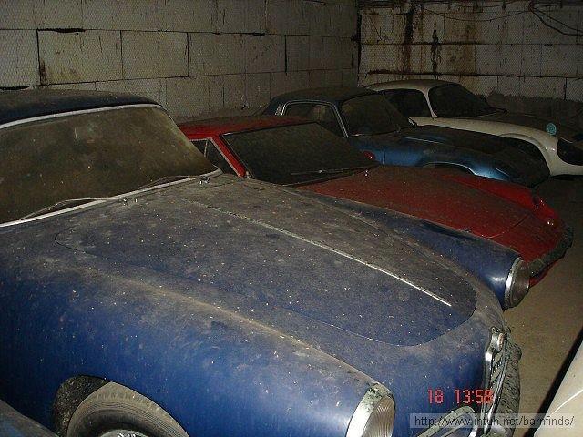 Alfa Giulietta, Lotus Europa, another Lotus Elan FHC, Matra Djet:
