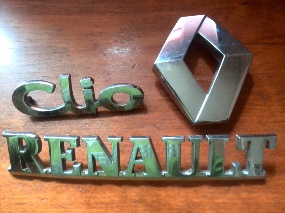 renault symbol надпись