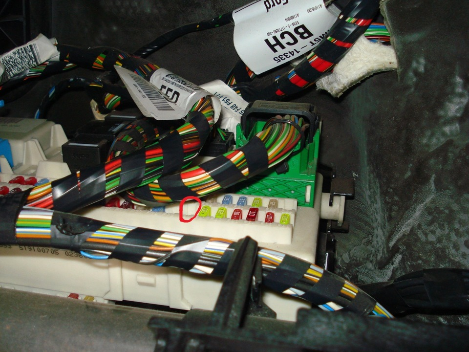 Блоки предохранителей и реле на Ford Transit (Форд Транзит ...