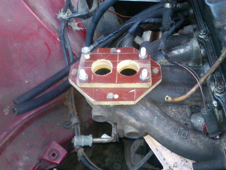 Ауди с4, 2 литра, ставим карбюратор вместо моноинжектора.