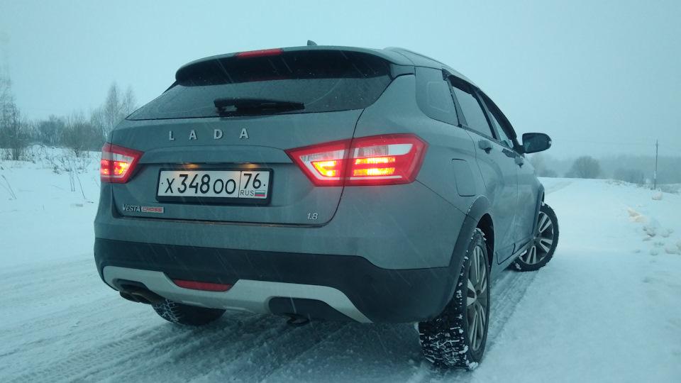 Lada Vesta SW Cross | DRIVE2