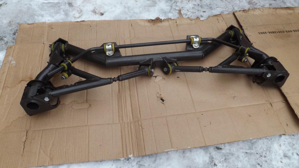 Фото №15 - независимая задняя подвеска ВАЗ 2110