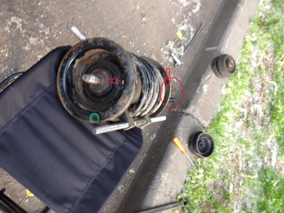 передняя стойка opel omega b снятие видео