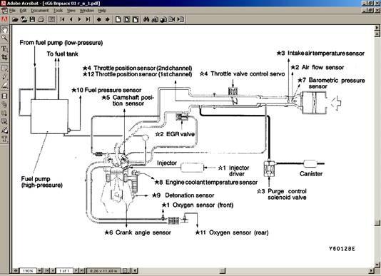Конструктиыные схемы впрыска топлива двигателей внутреннего сгорания с принудительным воспламенение.