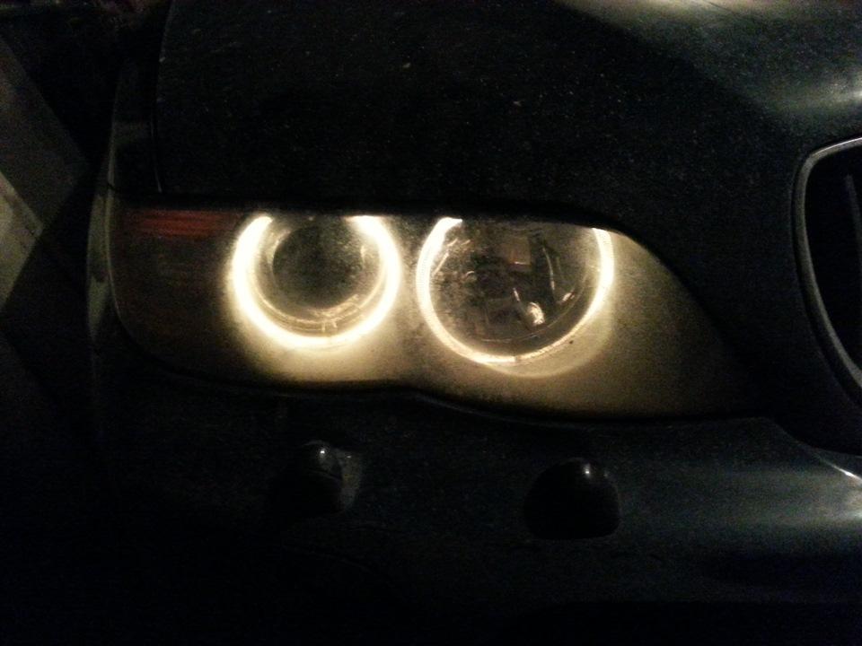 замена ксеноновых ламп BMW x5 e53