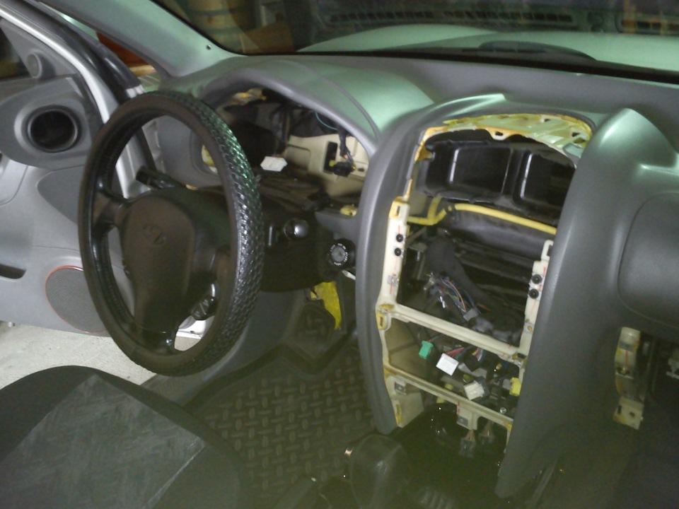проблема с радиатором на hyundai elantra