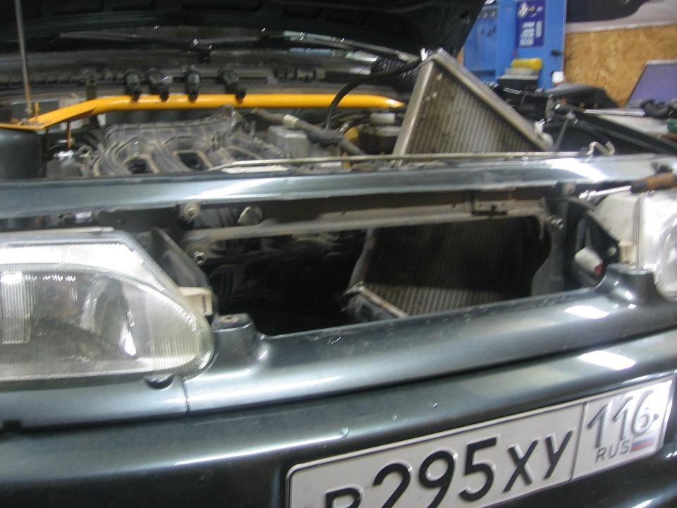 Ваз 2114 как заменить радиатор охлаждения