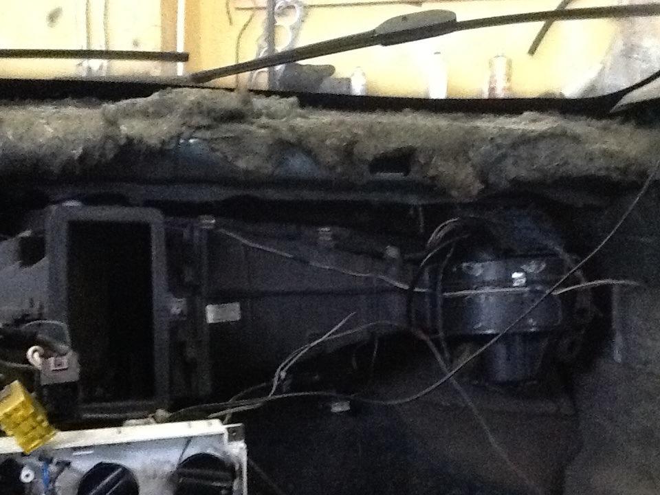 audi 80 b3 проблема с печкой дует холодный воздух устройство воздухо водов