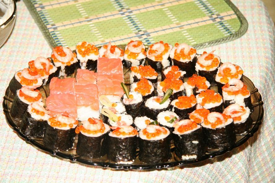 Рецепты суши своими руками - Mosavarkom.ru