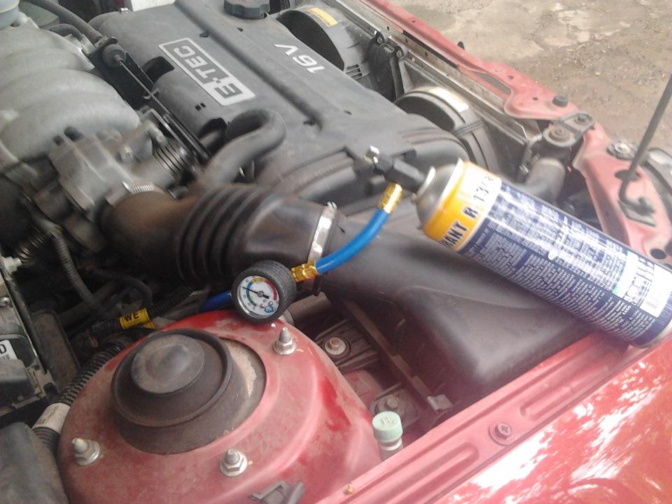 Лачетти ремонт кондиционера своими руками