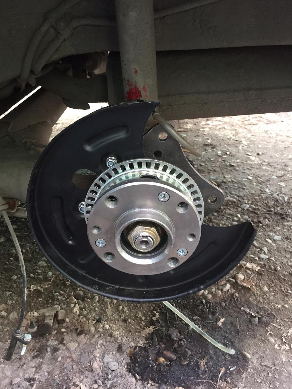 Задние дисковые тормоза на приору своими руками