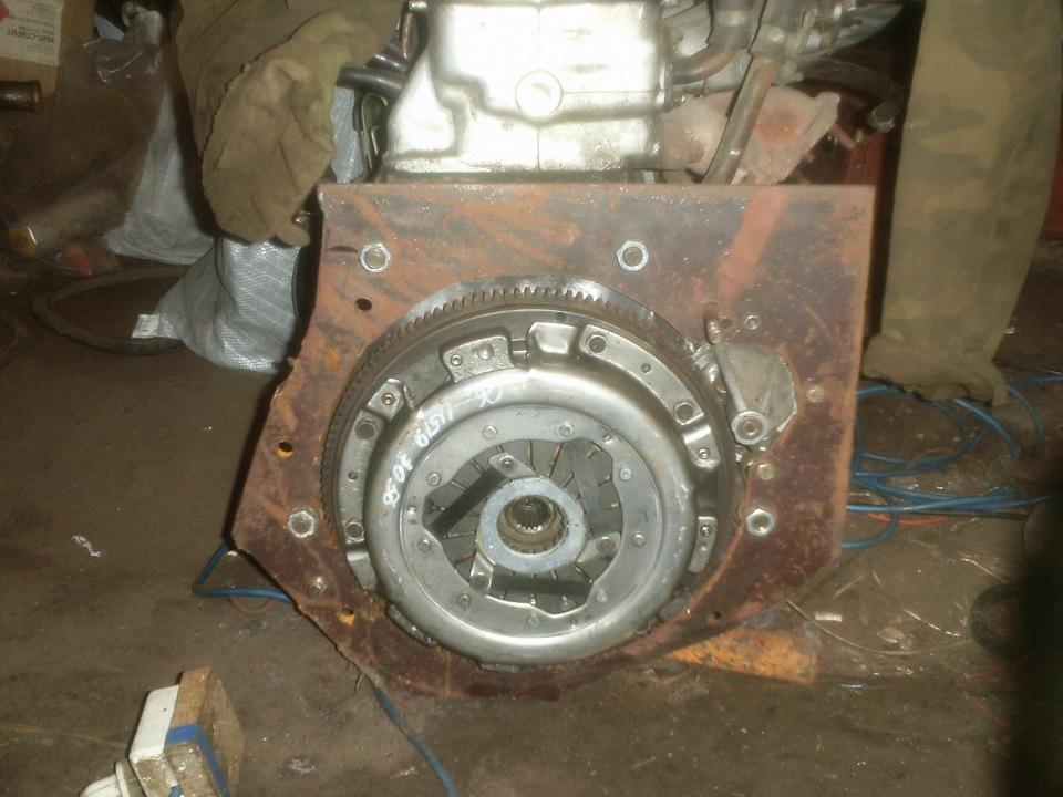 Двигатель ваз на луаз фото