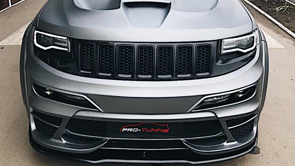 2011 Jeep Grand Cherokee Body Kit >> Jeep Grand Cherokee SRT-8 TYRANNOS Logbook