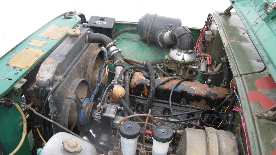 Ремонт двигателя уаз 469