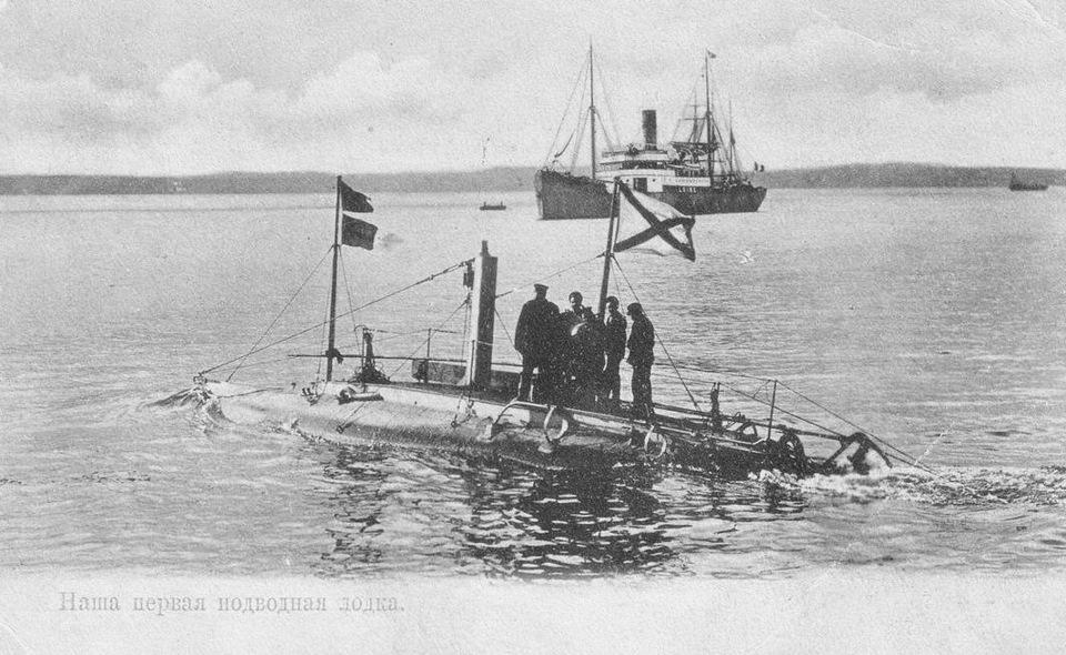 английские подводные лодки на балтике
