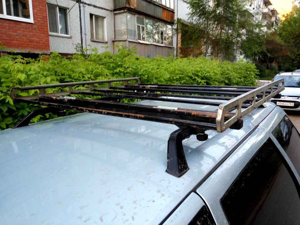 Багажник на крышу автомобиля 2111 своими руками 97