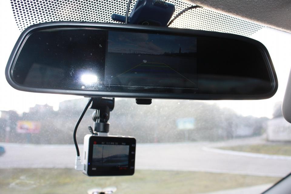 Камера заднего вида установка своими руками на логан