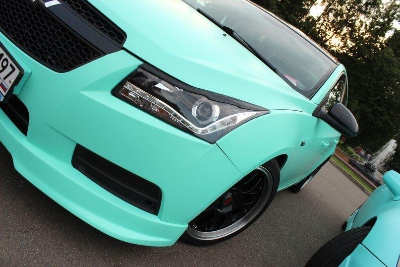 Авто мятный цвет