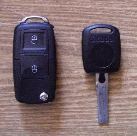skoda привязать ключ