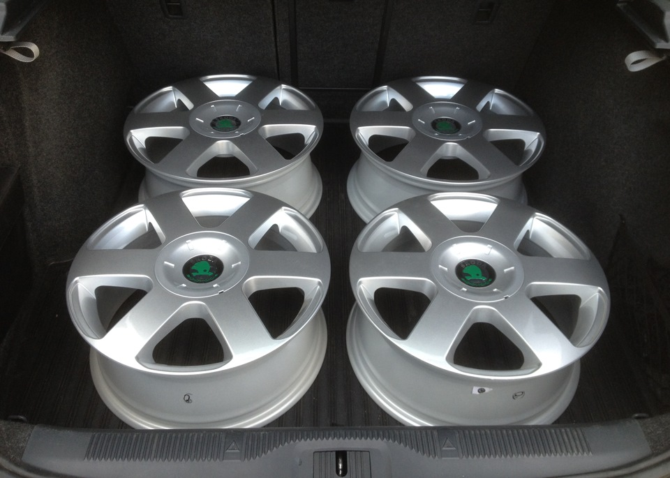 skoda octavia литые диски