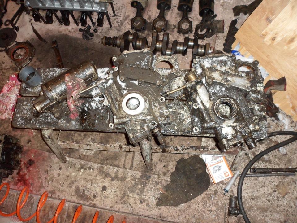 Ремонт двигателя м-412