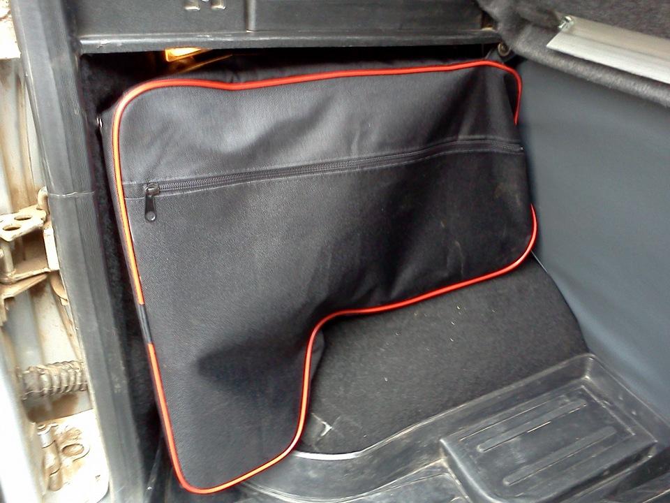 Сумки в багажник нива шевроле