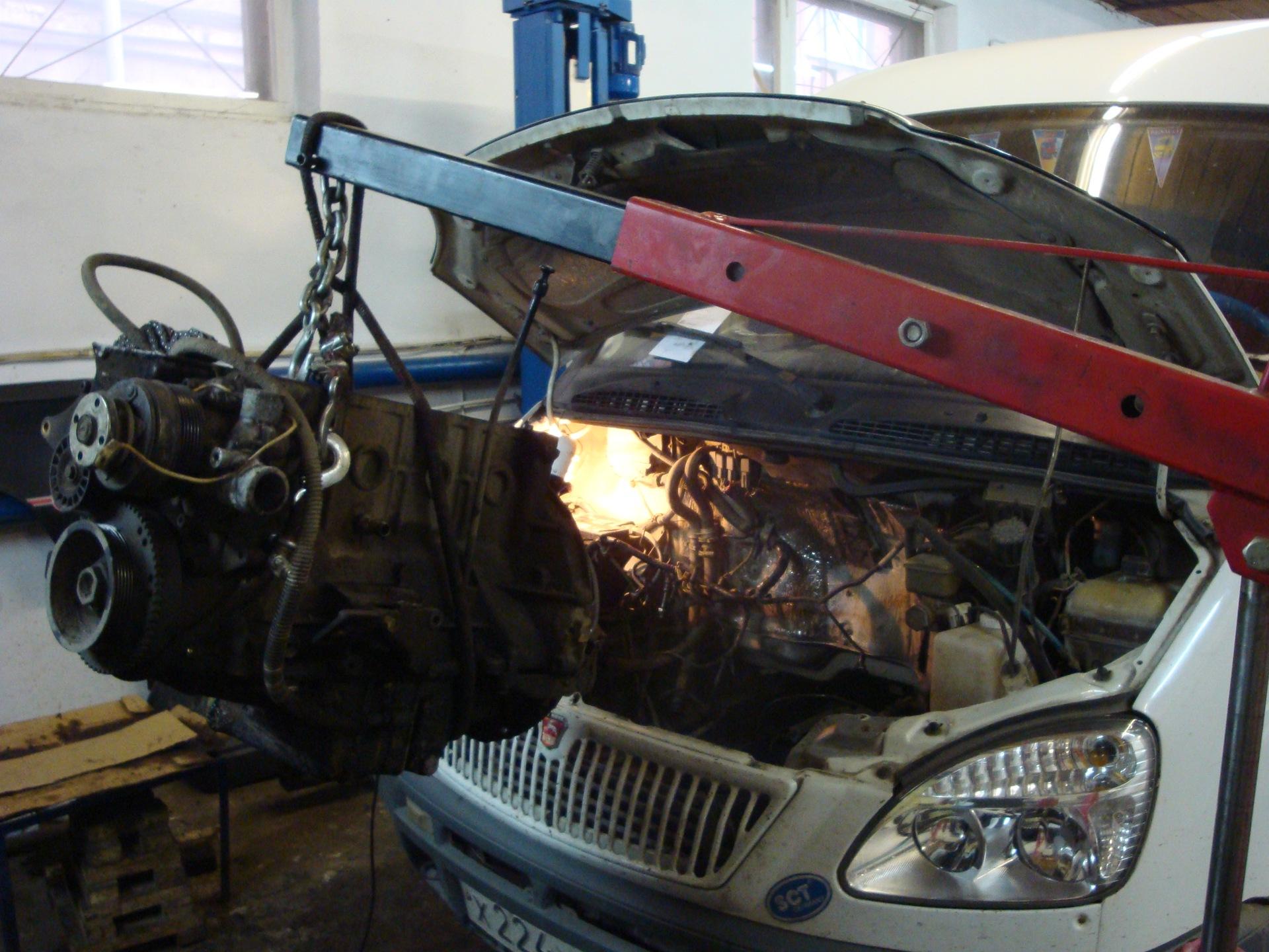 Автомобиль газель ремонт своими руками