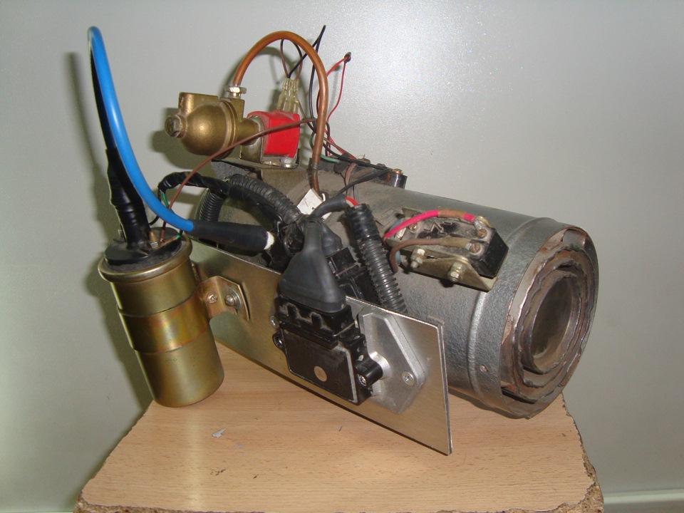 Печка на заз 968 схема