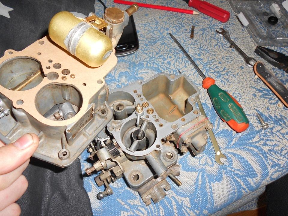 Ваз 2106 ремонт своими руками карбюратора фото
