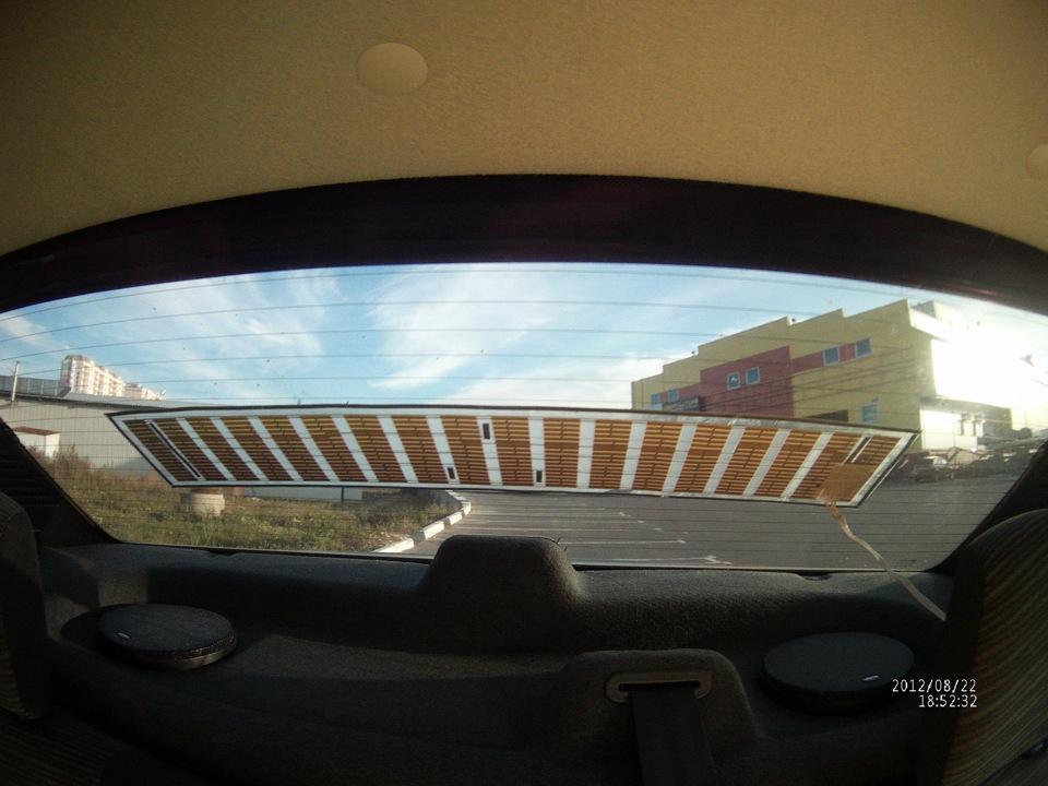 Эквалайзер на заднее стекло