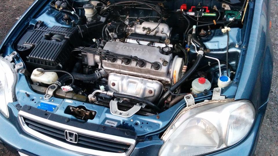 мотор на honda civic ek3