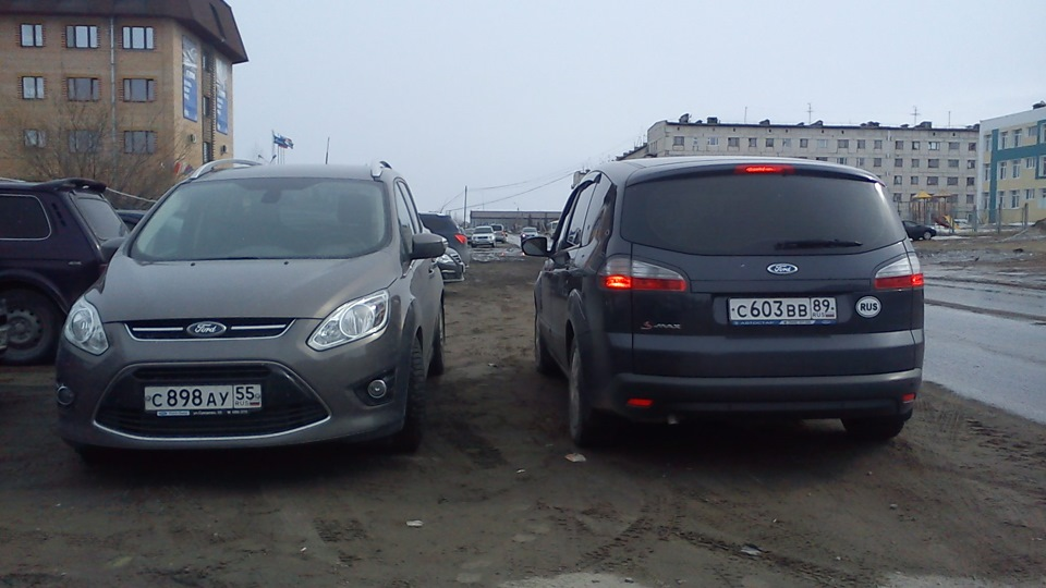 как увеличить дорожный просвет ford c-max видео