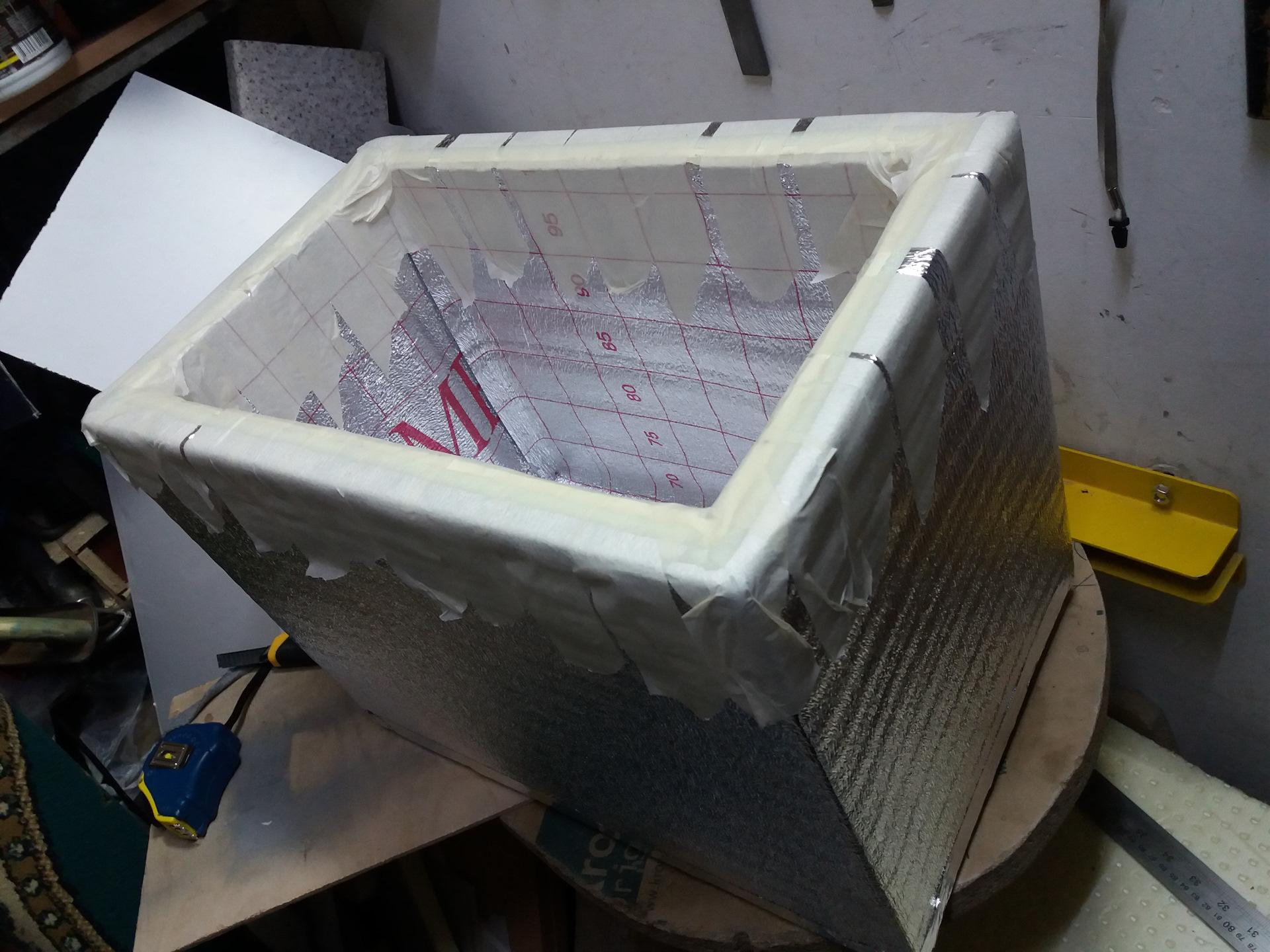холодильник своими руками из пенопласта фото вот творог или