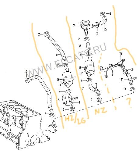 Схема №1 Система вентиляции