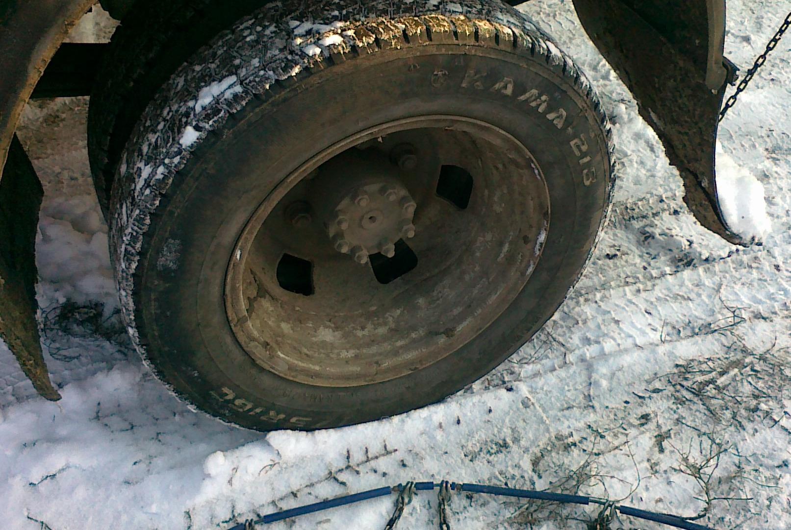 Цепи на колеса на газ