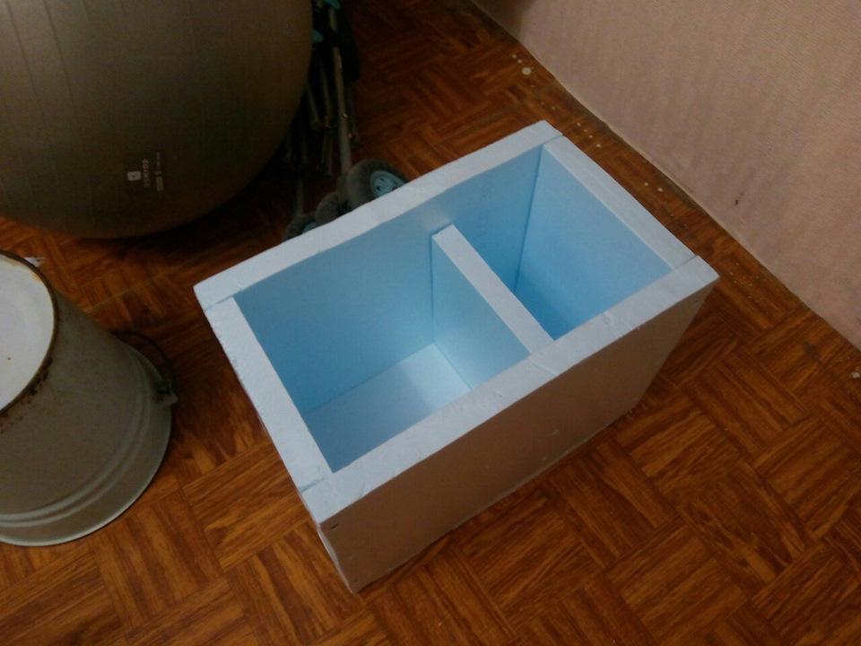 Пенопластовые контейнеры своими руками